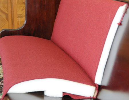 Pew Upholstery