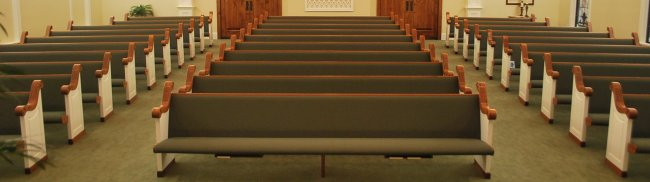 Church Outlet Pews