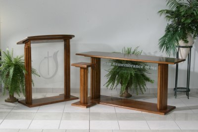 Proclaimer Series Pulpits and Communion Tables